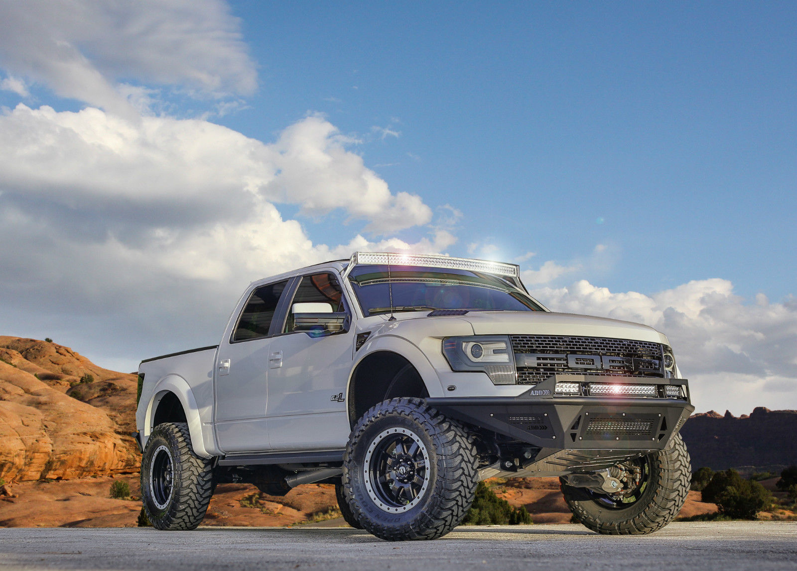 The 100k Ford Raptor Offroad Wtf
