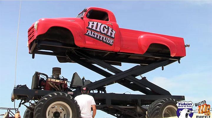 Worlds tallest truck