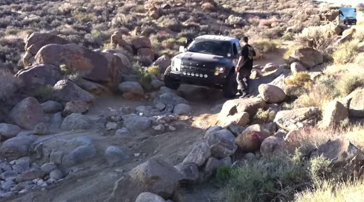Baja rock crawler
