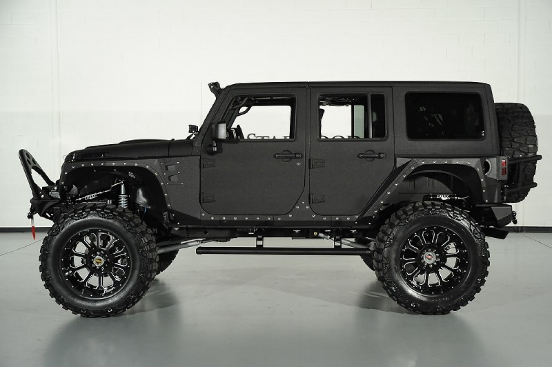 Jeep Wrangler Coil Springs Another amazing Black Kevlar jeep from the fine folks at Starwood ...