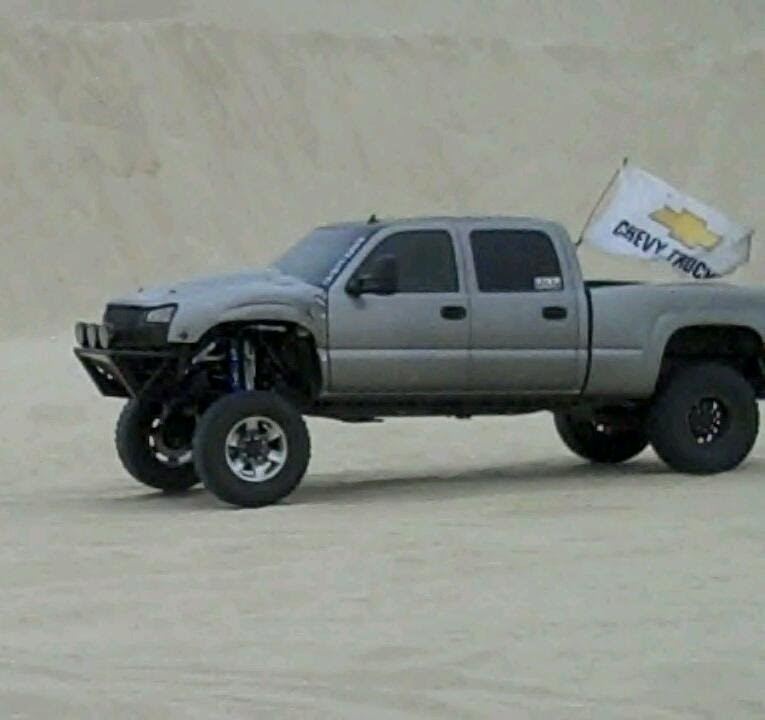 Duramax long travel Prerunner